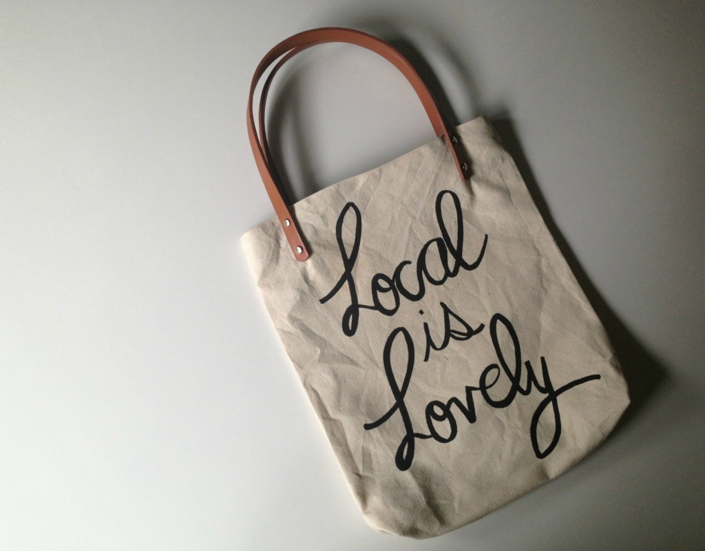 Local Is Lovely Tote