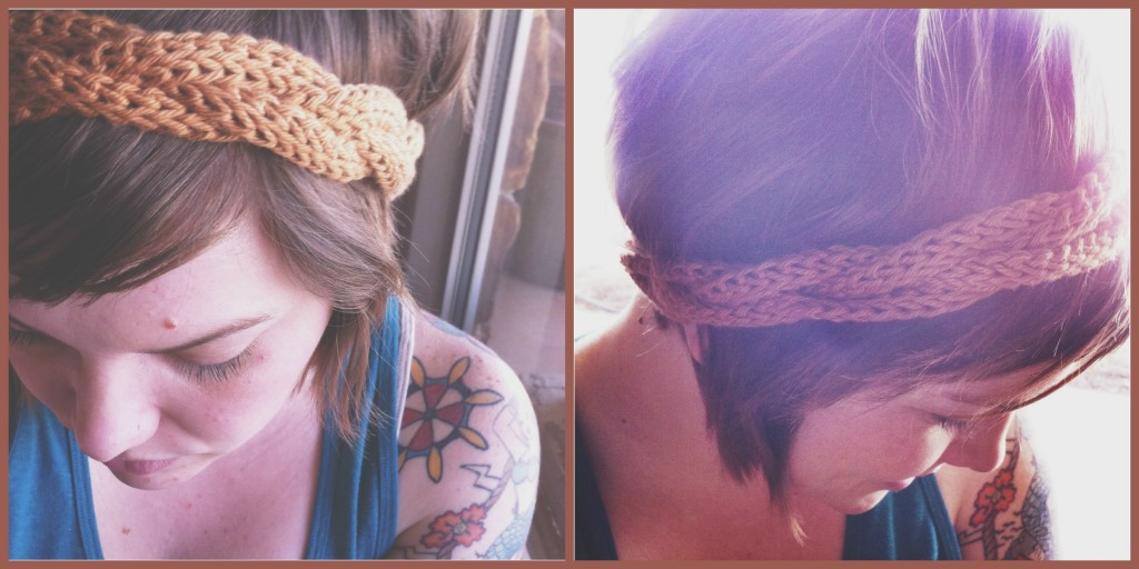 boho headband Collage