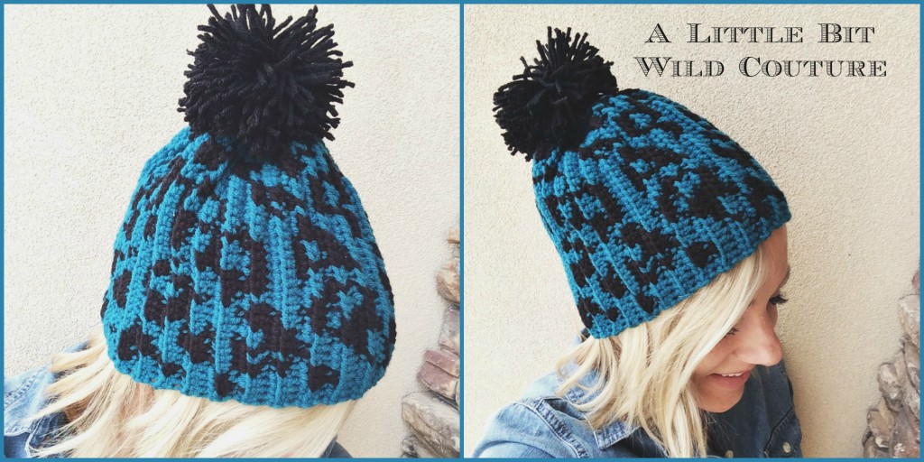 Leopard  Print Beanie by A Little Bit Wild Couture
