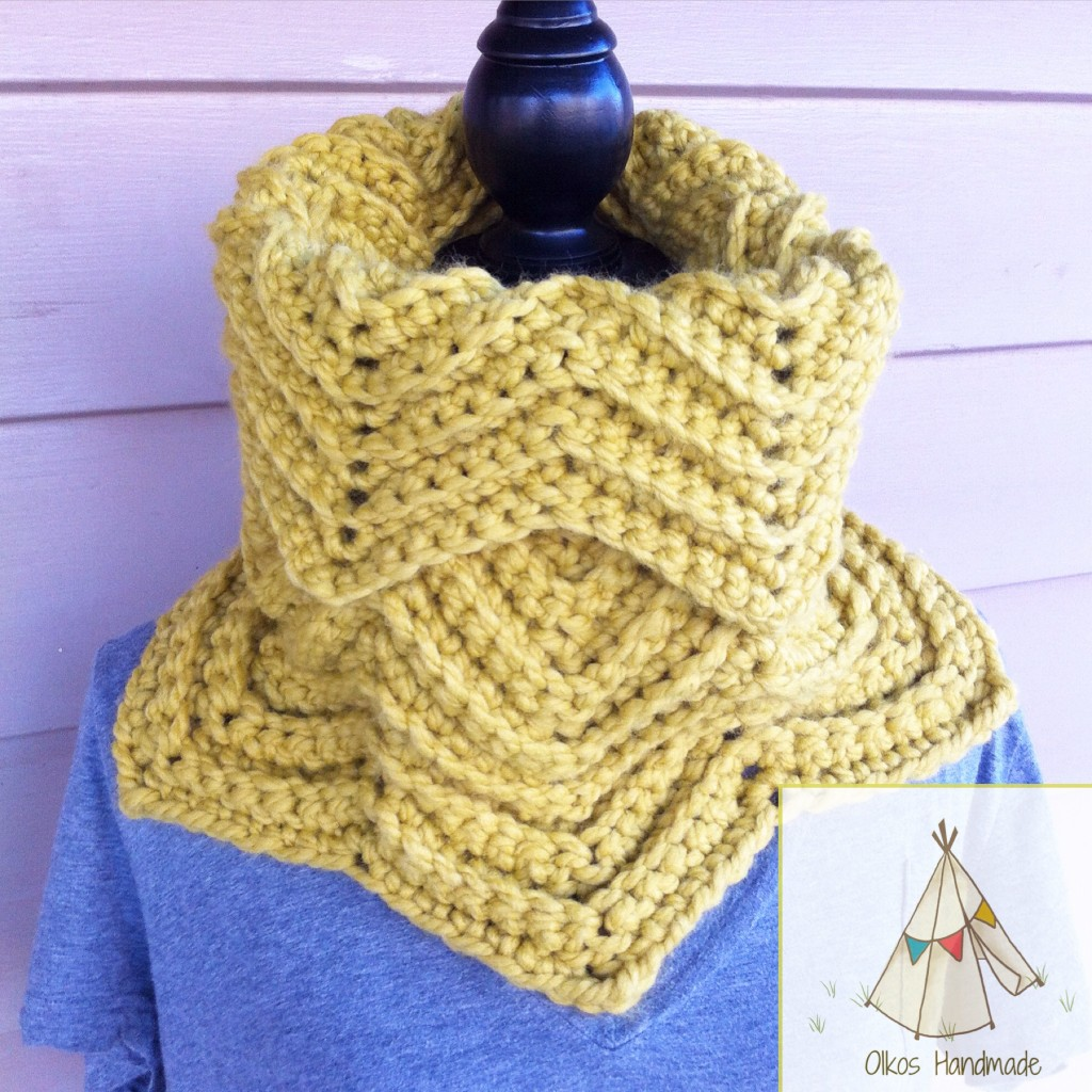 Ready To Ship Chevron Cowl