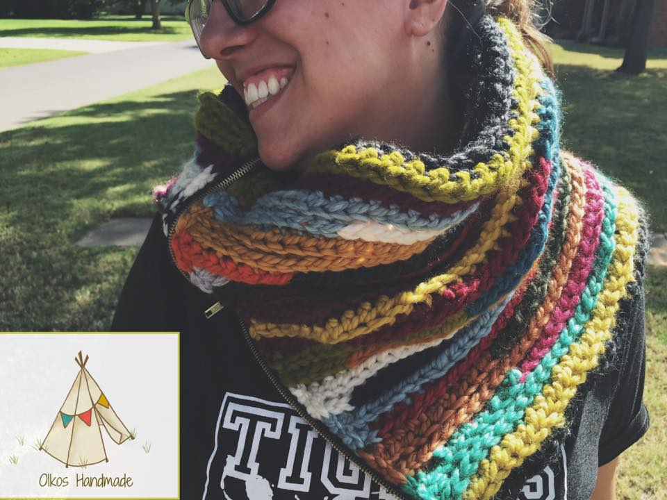 Zip-It Cowl by Oikos Handmade