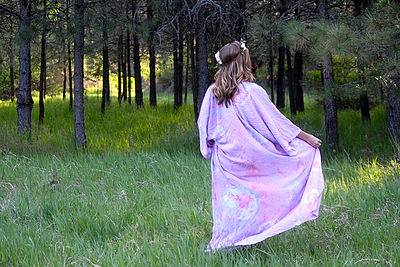 BASK Hand-dyed Kimono