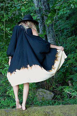 BASK BURN Kimono